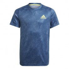 adidas Tennisshirt (Tshirt) FreeLift Primeblue 2021 navy Boys