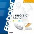 Besaitung mit Babolat Finebraid Micro