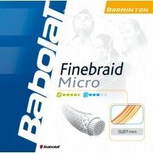 Babolat Finebraid Micro weiss Badmintonsaite