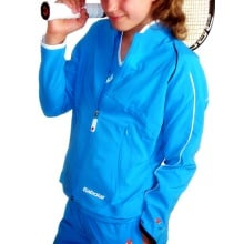 Babolat Tennisjacke Club New blau Girls (Größe 140)