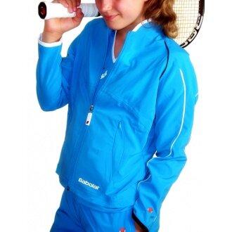 Babolat Jacket Club New blau Girls (Größe 140)