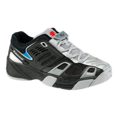 Babolat Propulse grau/schwarz Tennisschuhe Kinder