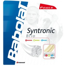 Besaitung mit Babolat Syntronic Brio