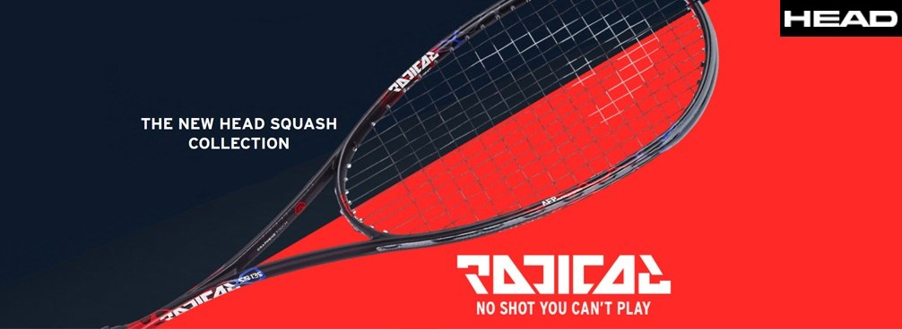 Head Graphene Touch Radical 2018 Squashschläger