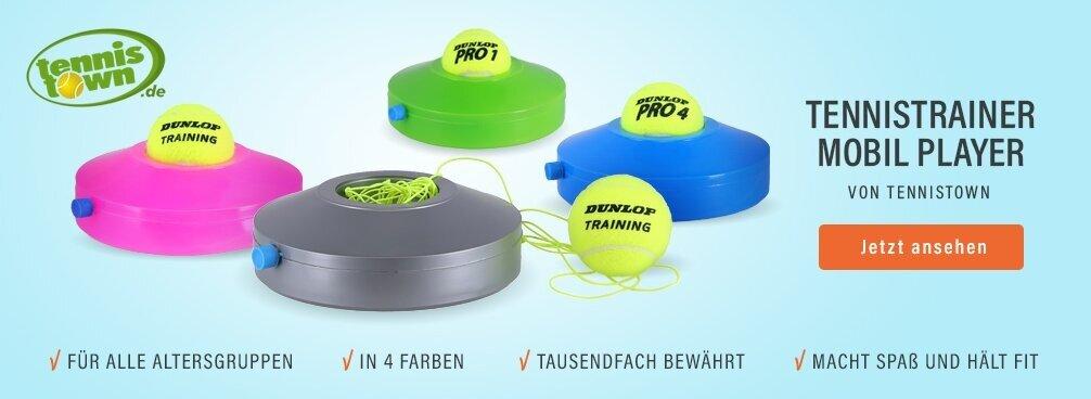 Tennistrainer Mobil Player Schlag-Übungsgerät