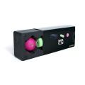 Blackroll Blackbox Block Set schwarz/pink/mint (Block + Ball 08- Mini)