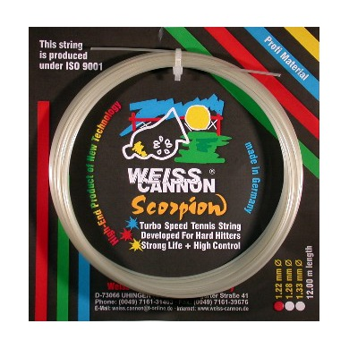 WeissCannon Scorpion weiss Tennissaite