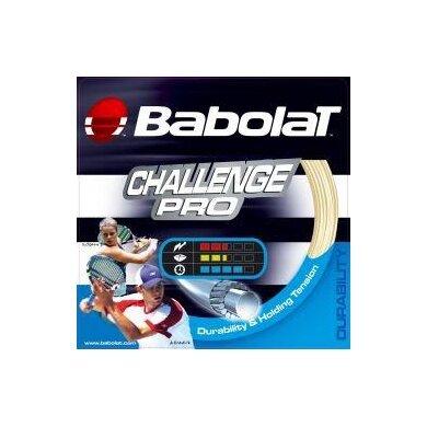 Besaitung mit Babolat Challenge Pro