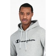 Champion Kapuzenpullover (Hoodie) Big Logo Print EM006 hellgrau Herren