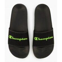 Champion Badeschuhe Slide Daytona schwarz/grün Herren