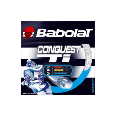 Besaitung mit Babolat Conquest Ti