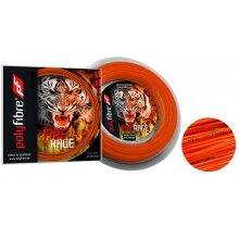 Polyfibre Tennissaite Fire Rage (Haltbarkeit+Power) orange 12m Set