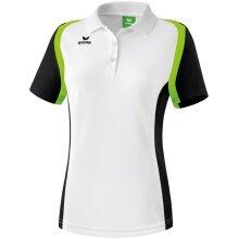 Erima Polo Razor 2.0 weiss/schwarz/grün Damen