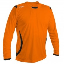 GECO Langarmshirt Levante orange/schwarz Boys