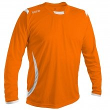 GECO Langarmshirt Levante orange/weiss Herren