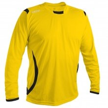 GECO Langarmshirt Levante gelb/schwarz Boys