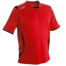 GECO Tshirt Levante rot/schwarz Herren