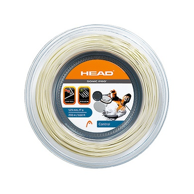 Head Sonic Pro weiss 200 Meter Rolle