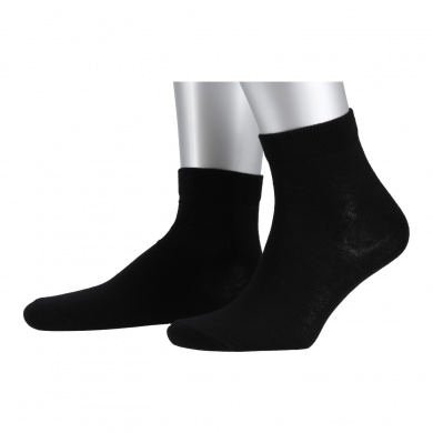 Champion Tennissocken Quarter schwarz Herren 3er