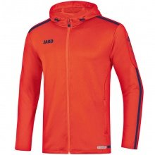 JAKO Kapuzenjacke Striker 2.0 2019 orange/navy Herren