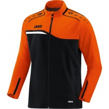 JAKO Trainingsjacke Competition 2.0 2018 schwarz/neonorange Boys