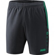 JAKO Short Competition 2.0 2018 anthrazit/türkis Damen