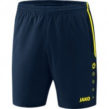 JAKO Short Competition 2.0 2018 dunkelblau/neongelb Damen