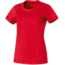 JAKO Shirt Team (100% Baumwolle) rot Damen