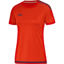 JAKO Shirt Striker 2.0 KA 2019 orange/navy Damen