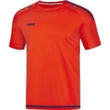 JAKO Tshirt Striker 2.0 KA 2019 orange/navy Herren