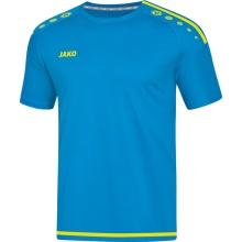 JAKO Tshirt Striker 2.0 KA 2019 blau/neongelb Herren