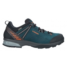 Lowa Ledro GTX Lo petrol/orange Outdoorschuhe Herren