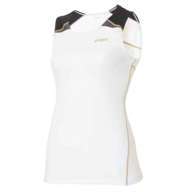 Asics Shirt Til Sleeveless weiss Damen
