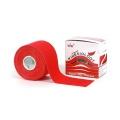 Nasara Tape Original Kinesiology 5cm x 5 Meter rot