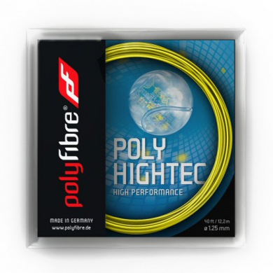 Besaitung mit Polyfibre Poly Hightec