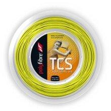 Polyfibre Tennissaite TCS (Haltbarkeit+Touch) gelb 200m Rolle