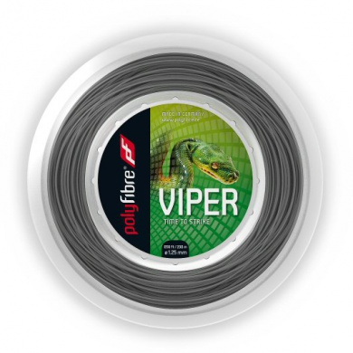 Polyfibre Viper silber 200 Meter Rolle