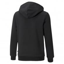 Puma Kapuzenpullover Hoodie Graphic Logo schwarz Jungen