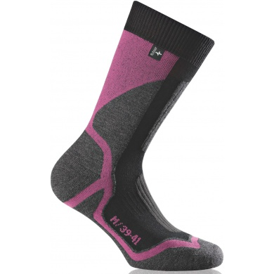 Rohner Trekkingsocke Back Country pink Damen