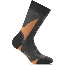 Rohner Trekkingsocke Back Country schwarz/orange Herren