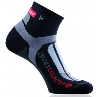 Rohner Bikesocke Cross Country schwarz