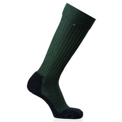 Rohner Trekkingsocke Original Overknee (Schurwolle) grün Herren - 1 Paar