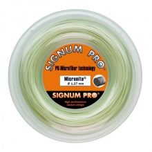 Signum Pro Tennissaite Micronite (Touch+Kontrolle) natur 200m Rolle