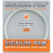 Besaitung mit Signum Pro Plasma Hextreme PURE