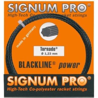 Signum Pro Tornado anthrazit Tennissaite