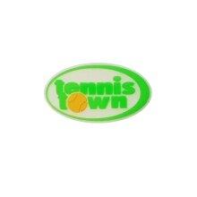 tennistown Schwingungsdämpfer Logo weiss 1er