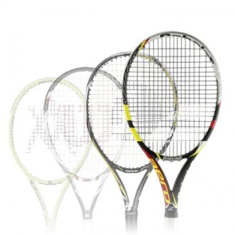 Testschläger Tennis