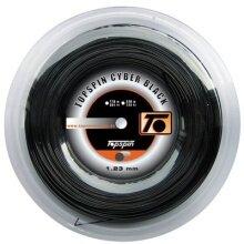 Topspin Cyber Black schwarz 110 Meter Rolle