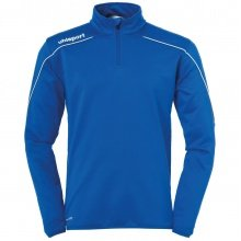 uhlsport Langarmshirt Zip Top Stream 22 2019 azurblau/weiss Boys