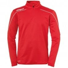 uhlsport Langarmshirt Zip Top Stream 22 2019 rot/weiss Boys